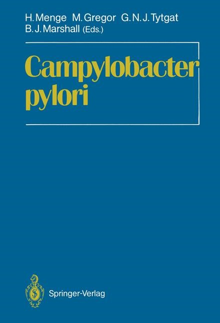 Abbildung von Menge / Gregor / Tytgat / Marshall | Campylobacter pylori | 2011