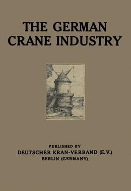 Abbildung von Meves | The German Crane Industry | 1924