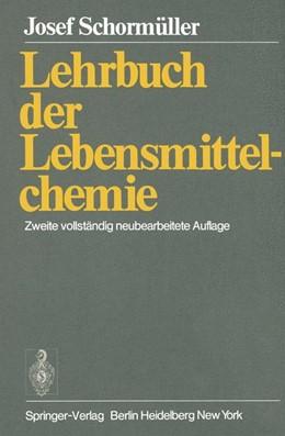 Abbildung von Schormüller   Lehrbuch der Lebensmittelchemie   2011