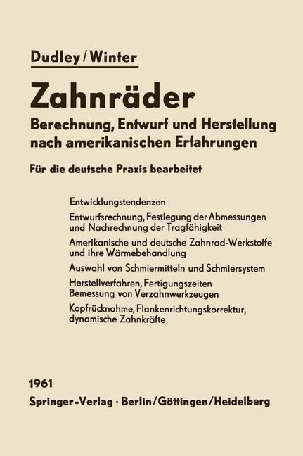 Zahnräder | Dudley, 2012 | Buch (Cover)