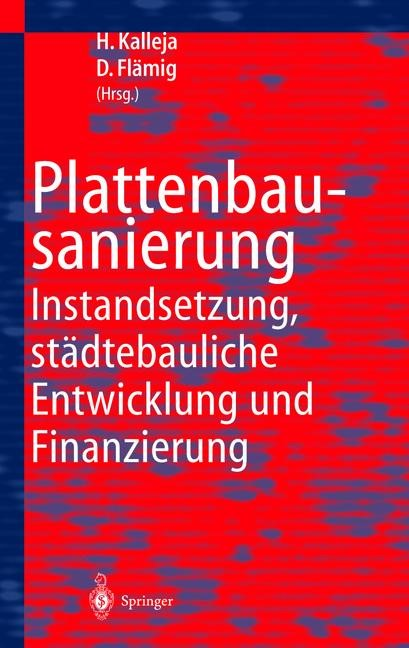 Plattenbausanierung | Kalleja / Flämig, 2011 | Buch (Cover)