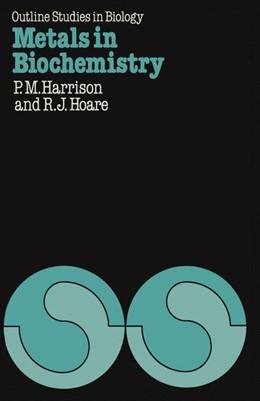 Abbildung von Harrison | Metals in Biochemistry | 1980