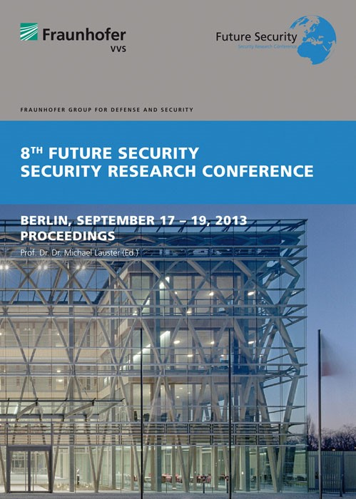 8th Future Security. Security Research conference | / Lauster, 2013 | Buch (Cover)