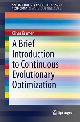 Abbildung von Kramer | A Brief Introduction to Continuous Evolutionary Optimization | 2013