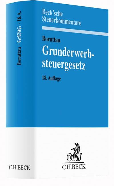 Grunderwerbsteuergesetz: GrEStG | Boruttau | 18. Auflage, 2016 | Buch (Cover)