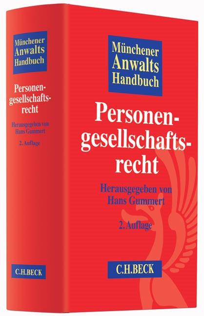 Münchener Anwaltshandbuch Personengesellschaftsrecht   2., überarbeitete und erweiterte Auflage, 2015   Buch (Cover)
