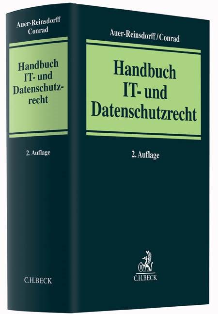 Handbuch IT- und Datenschutzrecht | Auer-Reinsdorff / Conrad | Buch (Cover)