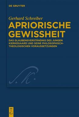 Abbildung von Schreiber | Apriorische Gewissheit | 2014 | Das Glaubensverständnis des ju... | 30