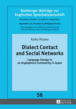Abbildung von Hirano | Dialect Contact and Social Networks | 2013 | Language Change in an Anglopho... | 56