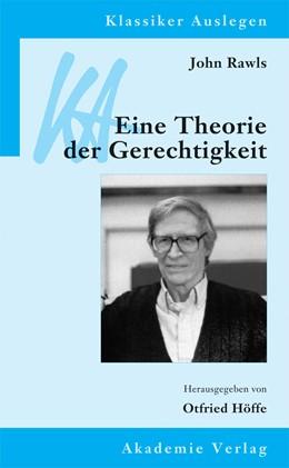 Abbildung von Höffe | John Rawls: Eine Theorie der Gerechtigkeit | 3., bearb. Auflage | 2013 | 15