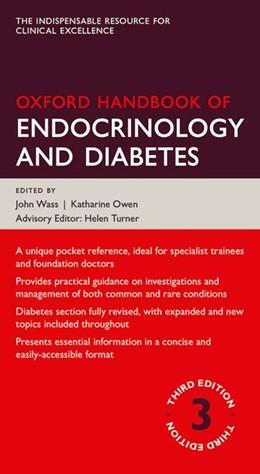 Abbildung von Wass / Owen (Ed.) | Oxford Handbook of Endocrinology and Diabetes | 3. Auflage | 2014 | beck-shop.de