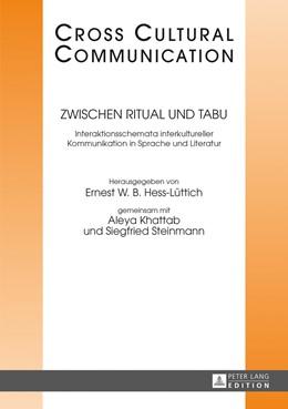Abbildung von Hess-Lüttich / Khattab / Steinmann | Zwischen Ritual und Tabu | 2013 | Interaktionsschemata interkult... | 24