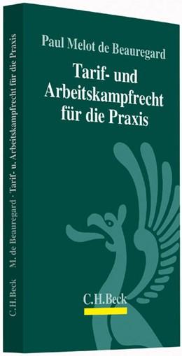Abbildung von Melot de Beauregard   Tarif- und Arbeitskampfrecht für die Praxis   2014