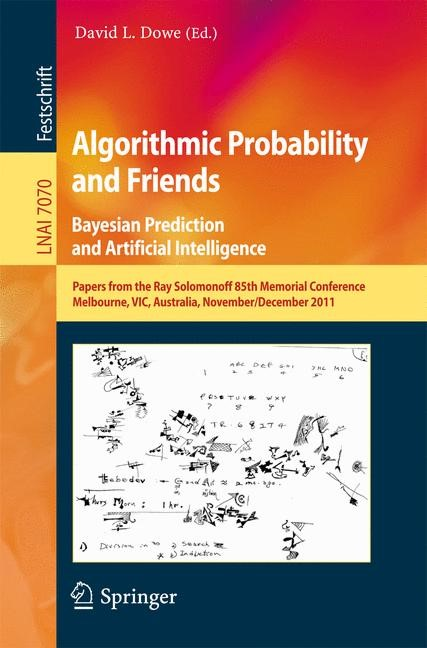 Abbildung von Dowe | Algorithmic Probability and Friends. Bayesian Prediction and Artificial Intelligence | 2013