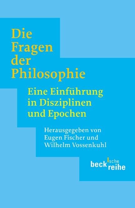 Cover: , Die Fragen der Philosophie