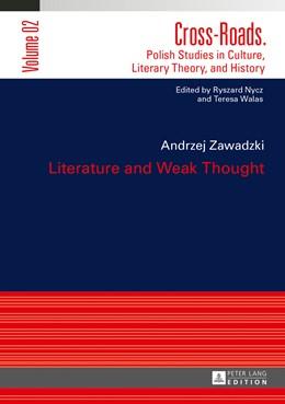 Abbildung von Zawadzki   Literature and Weak Thought   2013   2