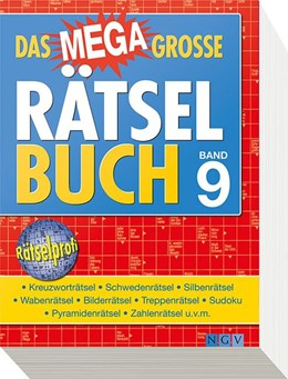Abbildung von Das megagroße Rätselbuch Band 9 | 2013
