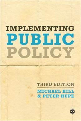 Abbildung von Hill / Hupe | Implementing Public Policy | 3. Auflage | 2014 | beck-shop.de