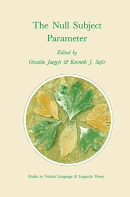 Abbildung von Jaeggli / Safir | The Null Subject Parameter | 1989 | 15