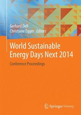 Abbildung von Dell / Egger | World Sustainable Energy Days Next 2014 | 1. Auflage | 2014 | beck-shop.de