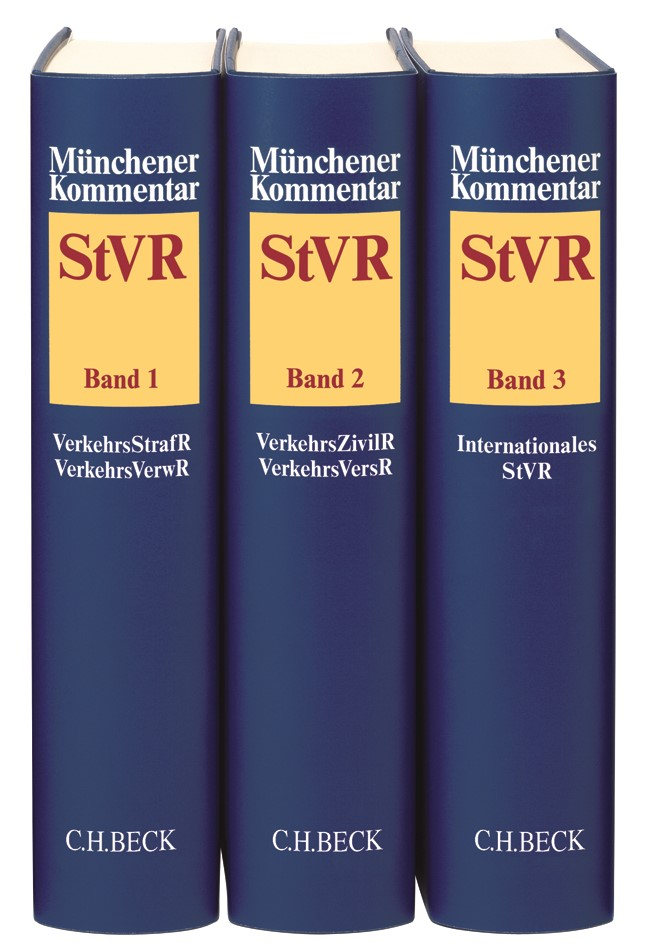 Münchener Kommentar zum Straßenverkehrsrecht: StVR, 2019 | Buch (Cover)
