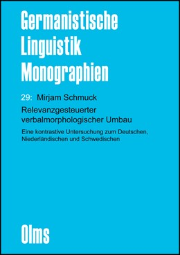 Abbildung von Schmuck | Relevanzgesteuerter verbalmorphologischer Umbau | 2013 | 2013 | Eine kontrastive Untersuchung ... | 29