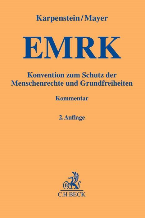 Konvention zum Schutz der Menschenrechte und Grundfreiheiten: EMRK | Karpenstein / Mayer | 2. Auflage, 2015 | Buch (Cover)