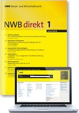 NWB Steuer- und Wirtschaftsrecht • direkt (Zeitschrift und Datenbank) (Cover)