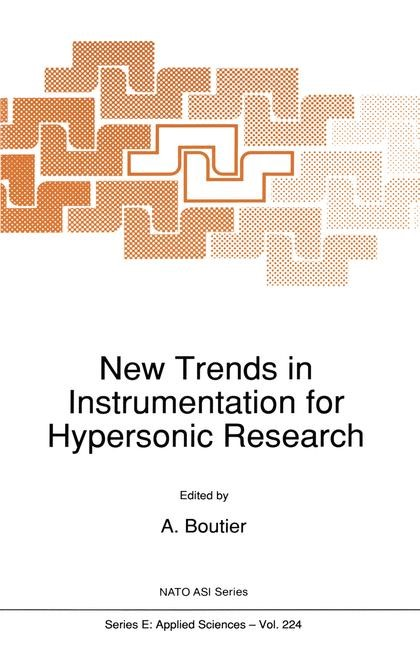 New Trends in Instrumentation for Hypersonic Research | Boutier, 2012 | Buch (Cover)