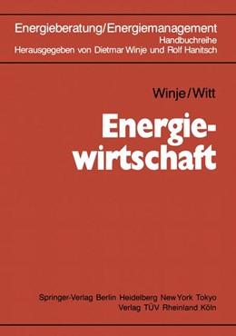 Abbildung von Winje / Hanitsch | Energiewirtschaft | 2013