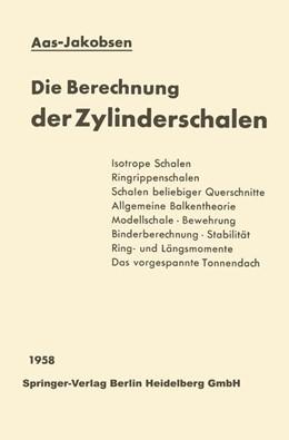 Abbildung von Aas-Jakobsen   Die Berechnung der Zylinderschalen   2013