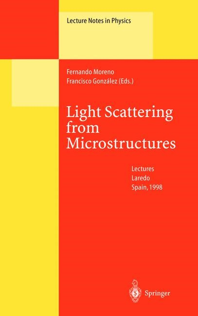 Light Scattering from Microstructures | Moreno / Gonzales, 2013 | Buch (Cover)