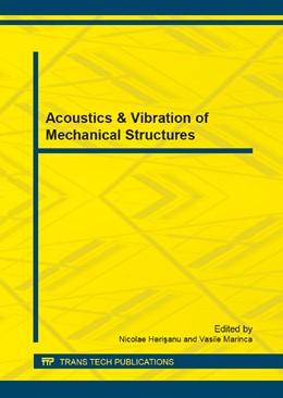 Abbildung von Herisanu / Marinca | Acoustics & Vibration of Mechanical Structures | 2013 | Selected, peer reviewed papers... | Volume 430