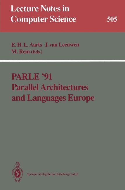 Abbildung von Aarts / van Leeuwen / Rem | Parle '91 Parallel Architectures and Languages Europe | 1987