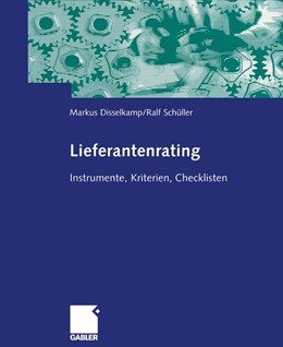 Abbildung von Disselkamp / Schüller | Lieferantenrating | 1. Auflage | 2013 | beck-shop.de