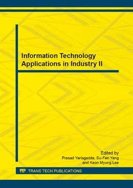 Abbildung von Yarlagadda / Yang / Lee | Information Technology Applications in Industry II | 2013 | Selected, peer reviewed papers... | Volumes 411-414