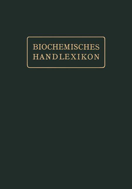 Gerbstoffe, Flechtenstoffe, Saponine, Bitterstoffe, Terpene, Ätherische Öle, Harze, Kautschuk | Abderhalden, 1912 | Buch (Cover)