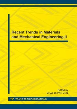 Abbildung von Luo / Deng | Recent Trends in Materials and Mechanical Engineering II | 1. Auflage | 2013 | Volume 420 | beck-shop.de