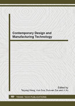 Abbildung von Wang / Guo | Contemporary Design and Manufacturing Technology | 1. Auflage | 2013 | Volume 819 | beck-shop.de