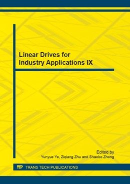 Abbildung von Ye / Zhu / Zhong | Linear Drives for Industry Applications IX | 2013 | Selected, peer reviewed papers... | Volumes 416-417