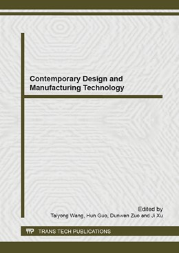 Abbildung von Wang / Guo | Contemporary Design and Manufacturing Technology | 1. Auflage | 2013 | Volume 819 | beck-shop.de