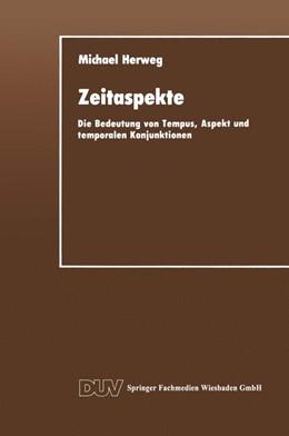 Abbildung von Herweg | Zeitaspekte | 1. Auflage | 2013 | beck-shop.de