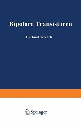 Abbildung von Schrenk | Bipolare Transistoren | 2013 | 6