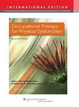 Abbildung von Radomski | Occupational Therapy for Physical Dysfunction | 2013