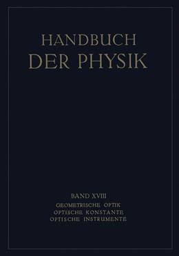 Abbildung von Boegehold / Geiger / Scheel   Geometrische Optik. Optische Konstante. Optische Instrumente   1927   18