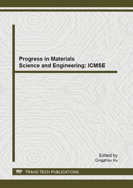 Abbildung von Xu | Progress in Materials Science and Engineering: ICMSE 2013 | 2013 | Selected, peer reviewed papers... | Volume 815