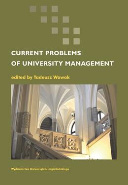 Abbildung von Wawak | Current Problems of University Management | 2014