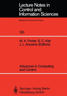 Abbildung von Porter / Kak | Advances in Computing and Control | 1. Auflage | 1989 | 130 | beck-shop.de