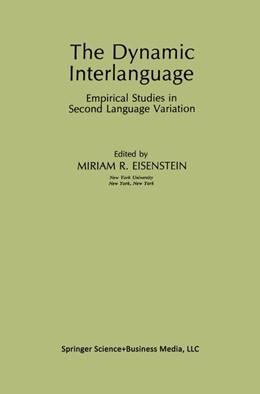 Abbildung von Eisenstein | The Dynamic Interlanguage | 2013 | Empirical Studies in Second La...