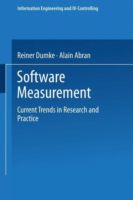 Software Measurement | Dumke / Abran, 1999 | Buch (Cover)